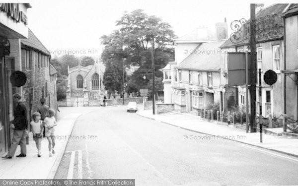 Photo of Wincanton, C Hurch Street c.1960