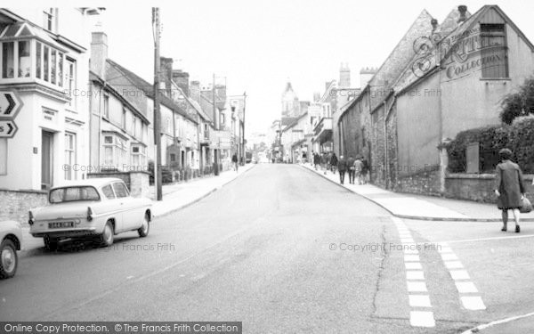 Photo of Wincanton, Church Street c.1960