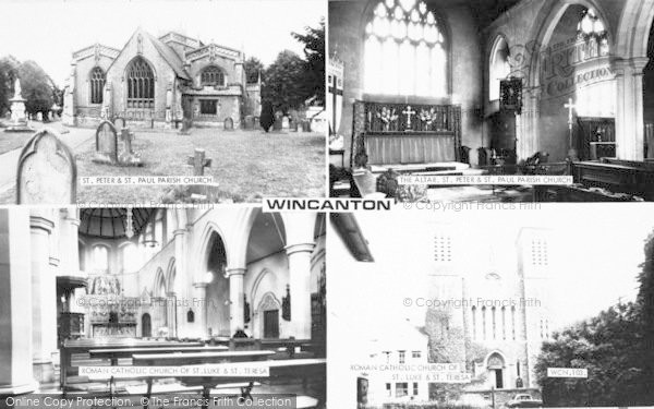 Photo of Wincanton, Composite c.1965