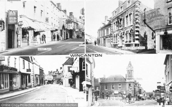 Photo of Wincanton, Composite c.1965