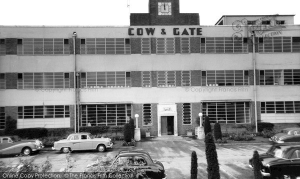 Photo of Wincanton, Cow And Gate Factory c.1960