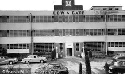 Cow And Gate Factory c.1960, Wincanton