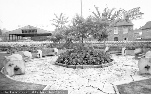 Photo of Wincanton, Cow And Gate Factory Gardens c.1960