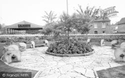 Wincanton, Cow And Gate Factory Gardens c.1960