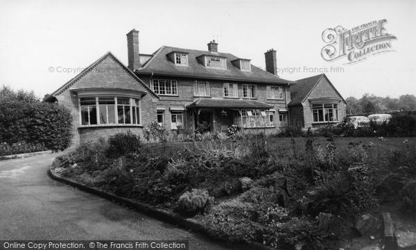 Photo of Wincanton, East Somerset Memorial Hospital c.1960