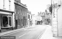 Wincanton, High Street c.1960