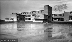 Wincanton, King Arthur's Secondary School c.1960