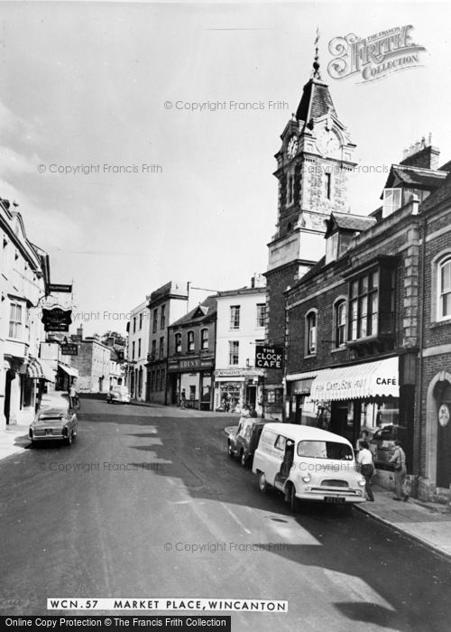 Photo of Wincanton, Market Place c.1960