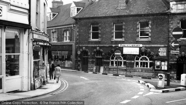 Photo of Wincanton, Market Place c.1960