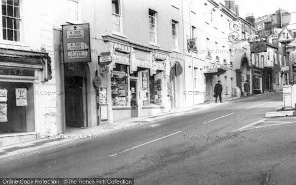 Photo of Wincanton, Market Place c.1965