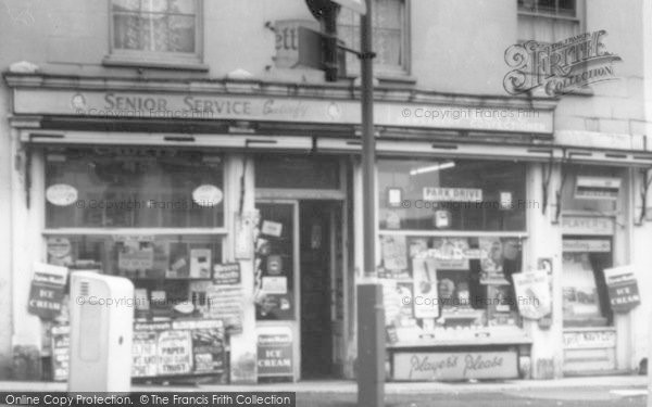 Photo of Wincanton, O'keeffe's Newsagents c.1960