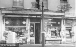 Wincanton, O'keeffe's Newsagents c.1960