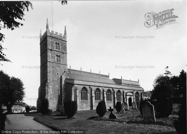 Photo of Wincanton, Parish Church c.1955