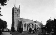 Wincanton, Parish Church c1955