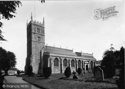 Parish Church c.1955, Wincanton