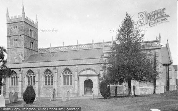 Photo of Wincanton, Parish Church c.1955