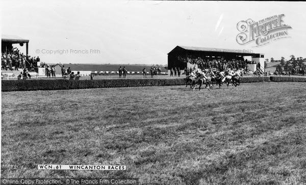 Photo of Wincanton, Races c.1960