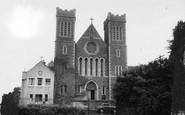 Wincanton, Roman Catholic Church of St Luke and St Teresa c1960