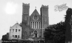 Wincanton, Roman Catholic Church Of St Luke And St Teresa c.1960