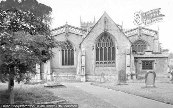 Photo of Wincanton, St Peter And St Paul Church c.1960