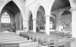 Wincanton, St Peter And St Paul Parish Church Interior c.1960