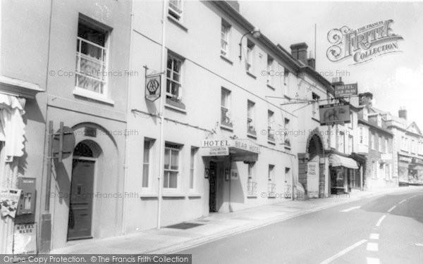 Photo of Wincanton, The Bear Hotel c.1960