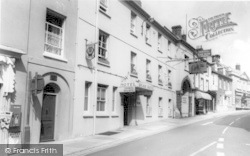 The Bear Hotel c.1960, Wincanton