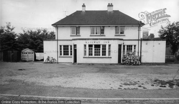 Photo of Wincanton, The Railway Inn c.1960