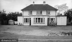 Wincanton, The Railway Inn c.1960