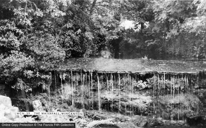 Photo of Wincanton, The Waterfall c.1960