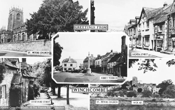 Photo of Winchcombe, Composite c.1955