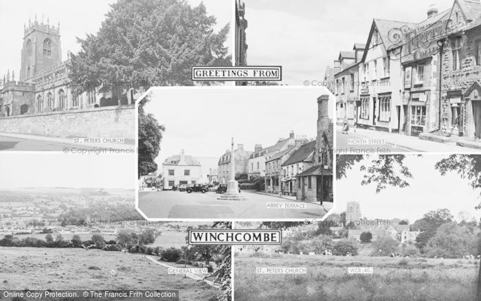 Photo of Winchcombe, Composite c.1960