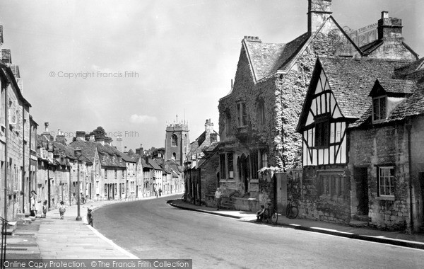 Photo of Winchcombe, Gloucester Street c.1955