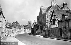 Gloucester Street c.1955, Winchcombe