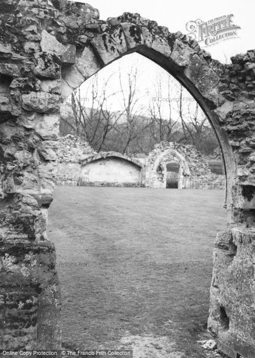Photo of Winchcombe, Hailes Abbey c.1960
