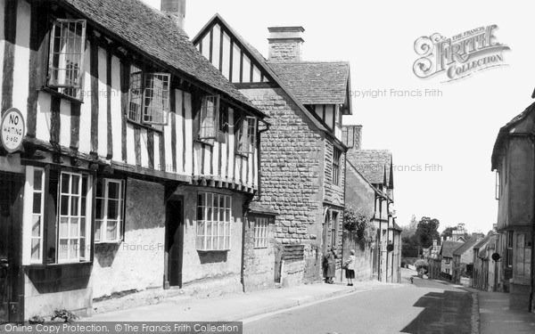 Photo of Winchcombe, Hailes Street c.1955