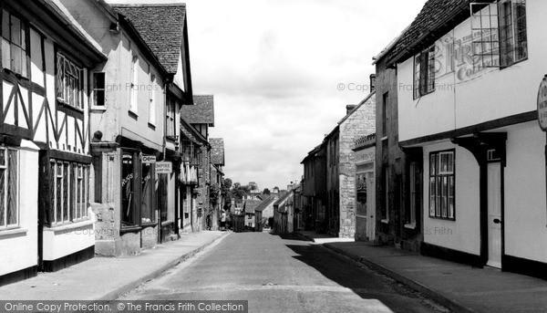 Photo of Winchcombe, Hailes Street c.1960