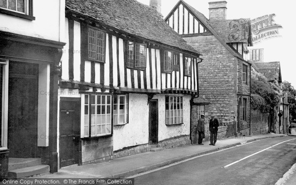 Photo of Winchcombe, Half Timbered House, Hailes Street c.1955