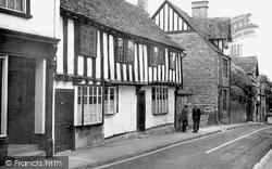 Half Timbered House, Hailes Street c.1955, Winchcombe