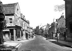 High Street c.1950, Winchcombe