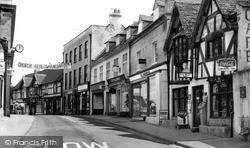 High Street, John Wesley Cafe c.1955, Winchcombe