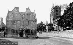 Winchcombe, Jacobean House And St Peter's Church c.1955