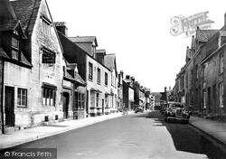 Winchcombe, North Street c.1950