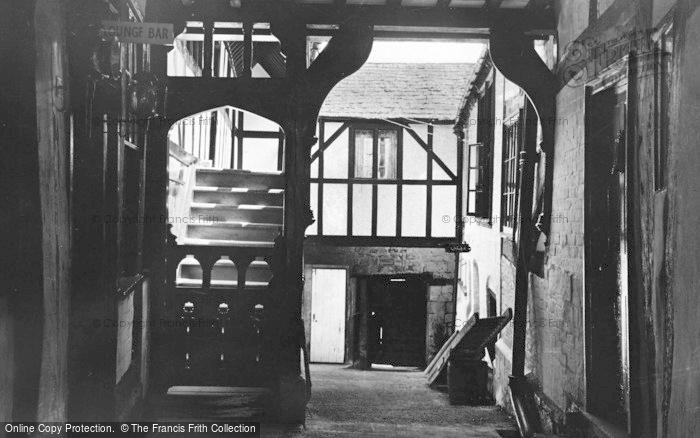 Photo of Winchcombe, Pilgrims Gallery, George Hotel c.1955