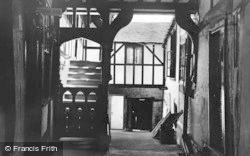 Pilgrims Gallery, George Hotel c.1955, Winchcombe
