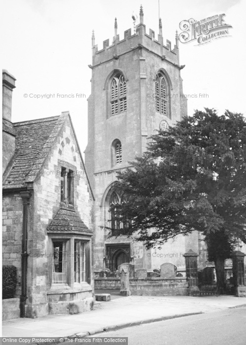 Photo of Winchcombe, St Peter's Church c.1960