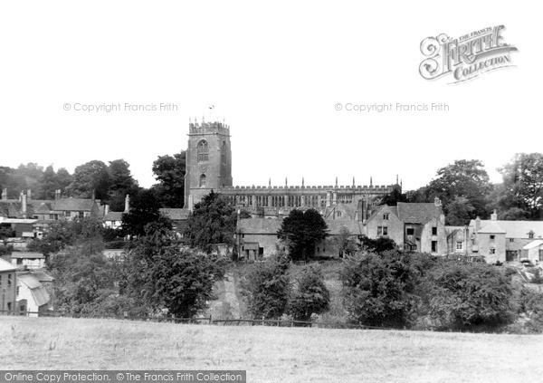 Photo of Winchcombe, St Peter's Church From Almsbury Farm c.1950