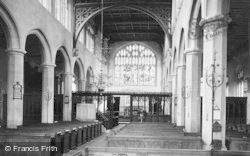 Winchcombe, St Peter's Church, Interior 1907
