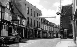 Winchcombe, The George Inn c.1960
