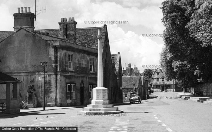Photo of Winchcombe, The War Memorial c.1955